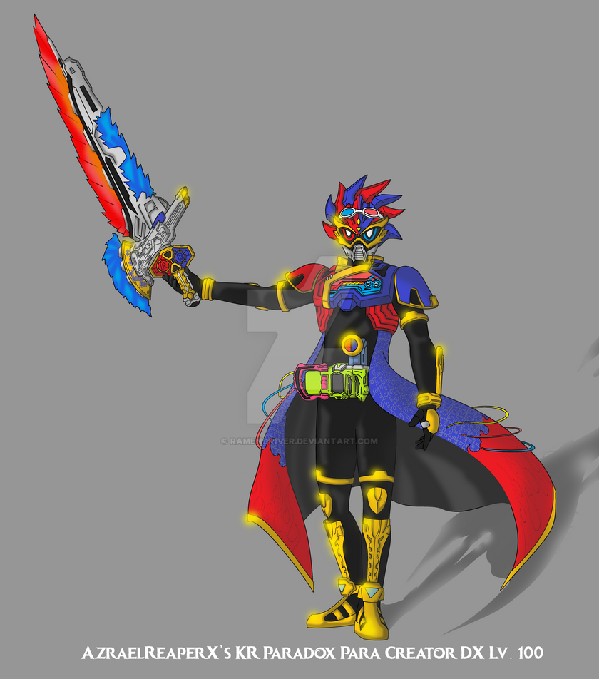 Dx Wallpaper: COMMISSION: Kamen Rider Para-DX Para Creator DX By