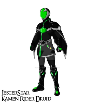 COMM: Kamen Rider Druid