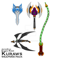 COMM: KR Kuraws (Claws) - Weapons Pack