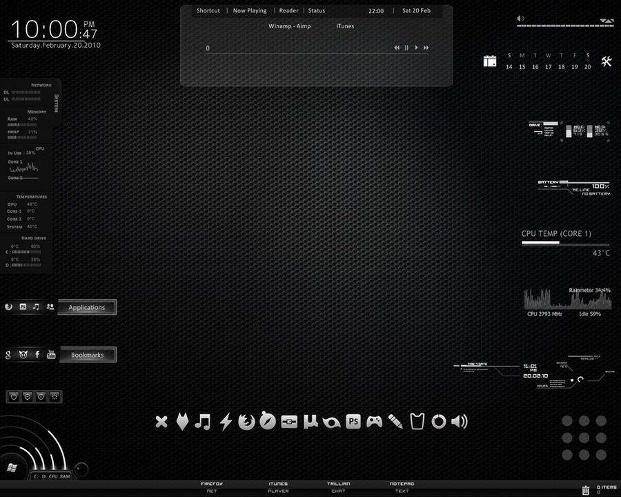 Desktop - Carbon by df006