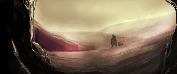 Desert Trek by blahte