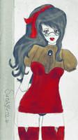 Red Dress. by SushiiKun