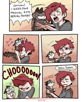 Magical Kitty Healing Powers