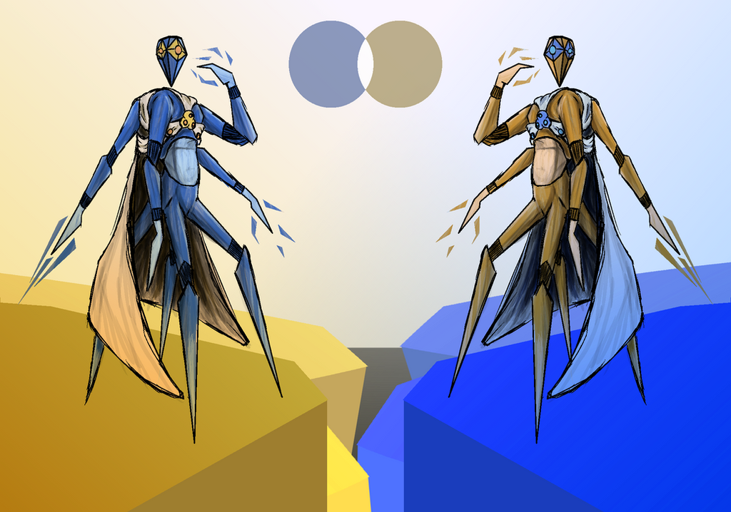 Crystal Warriors by ApeJazzPistol