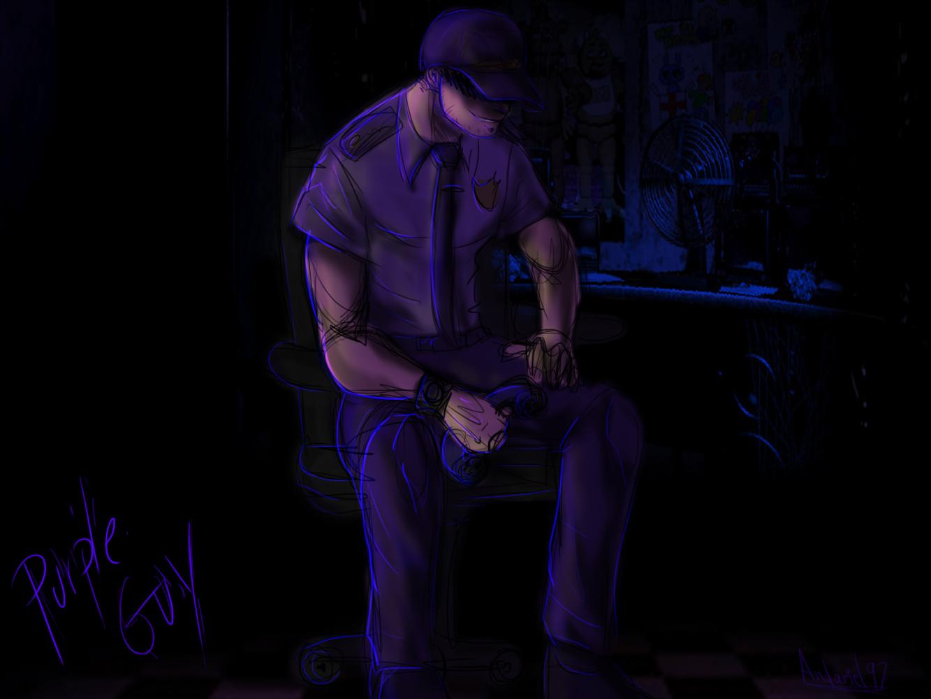 Purple Guy FNAF By Andariel97 On DeviantArt