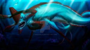 Subnautica Reaper Leviathan