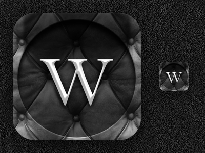 Winn iOS app icon design by XTR-Design