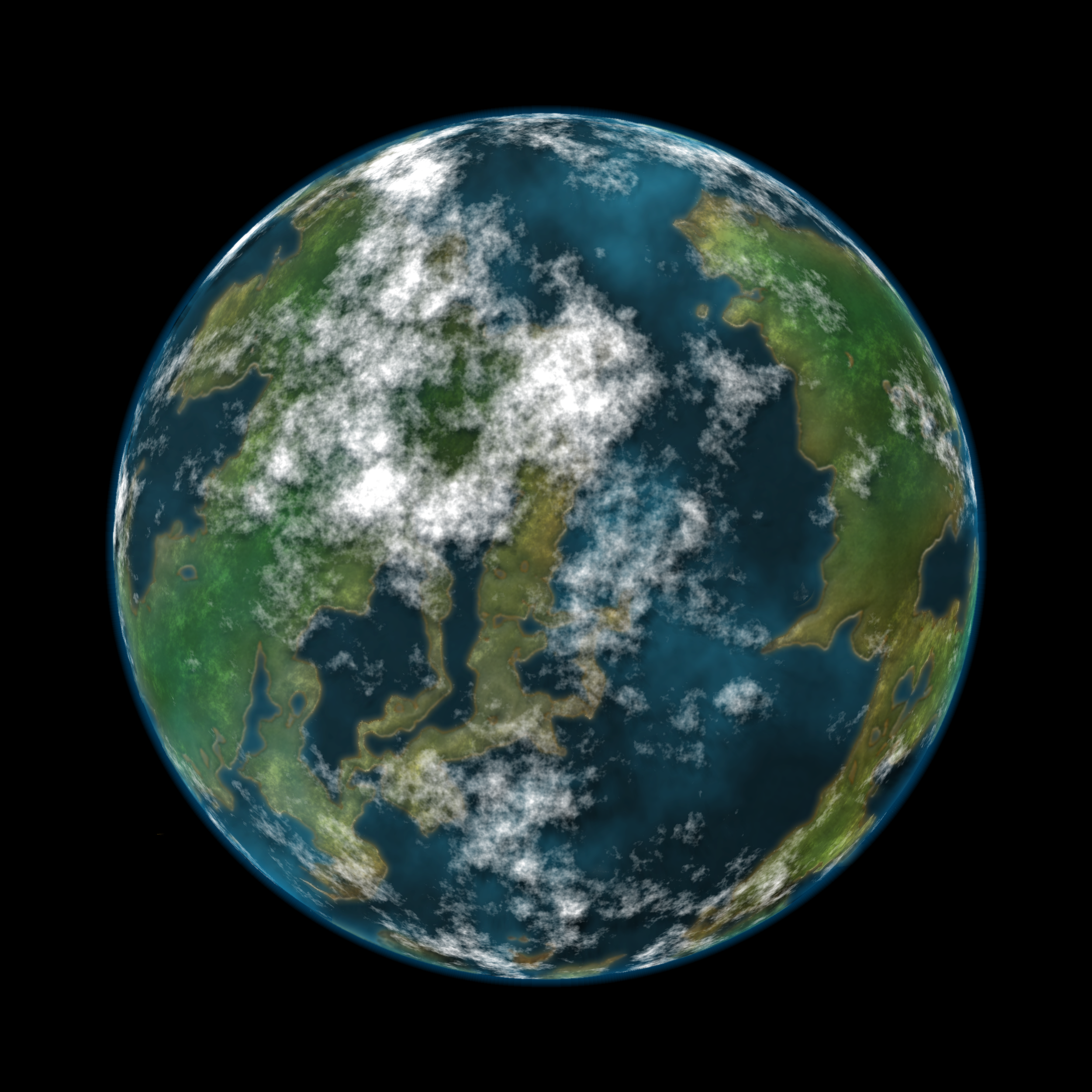 Earth-like Planet by deviously-buzzkilled on DeviantArt