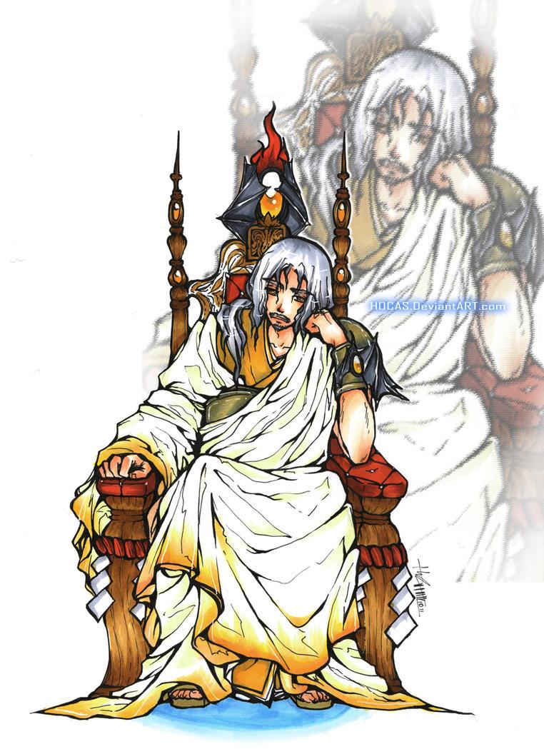 S: The Bored God by LINHhocas