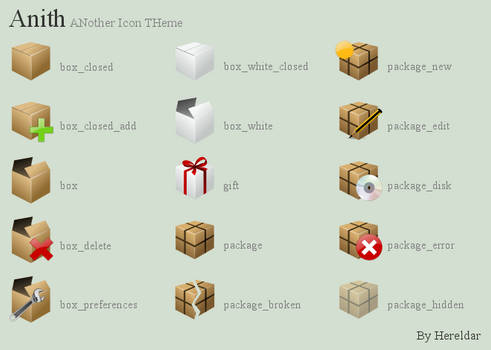 Anith Preview - Boxes