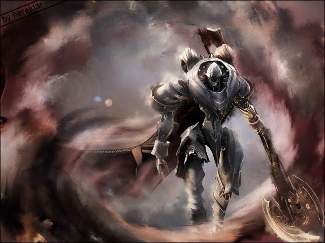 Dark Warrior by Hereldar