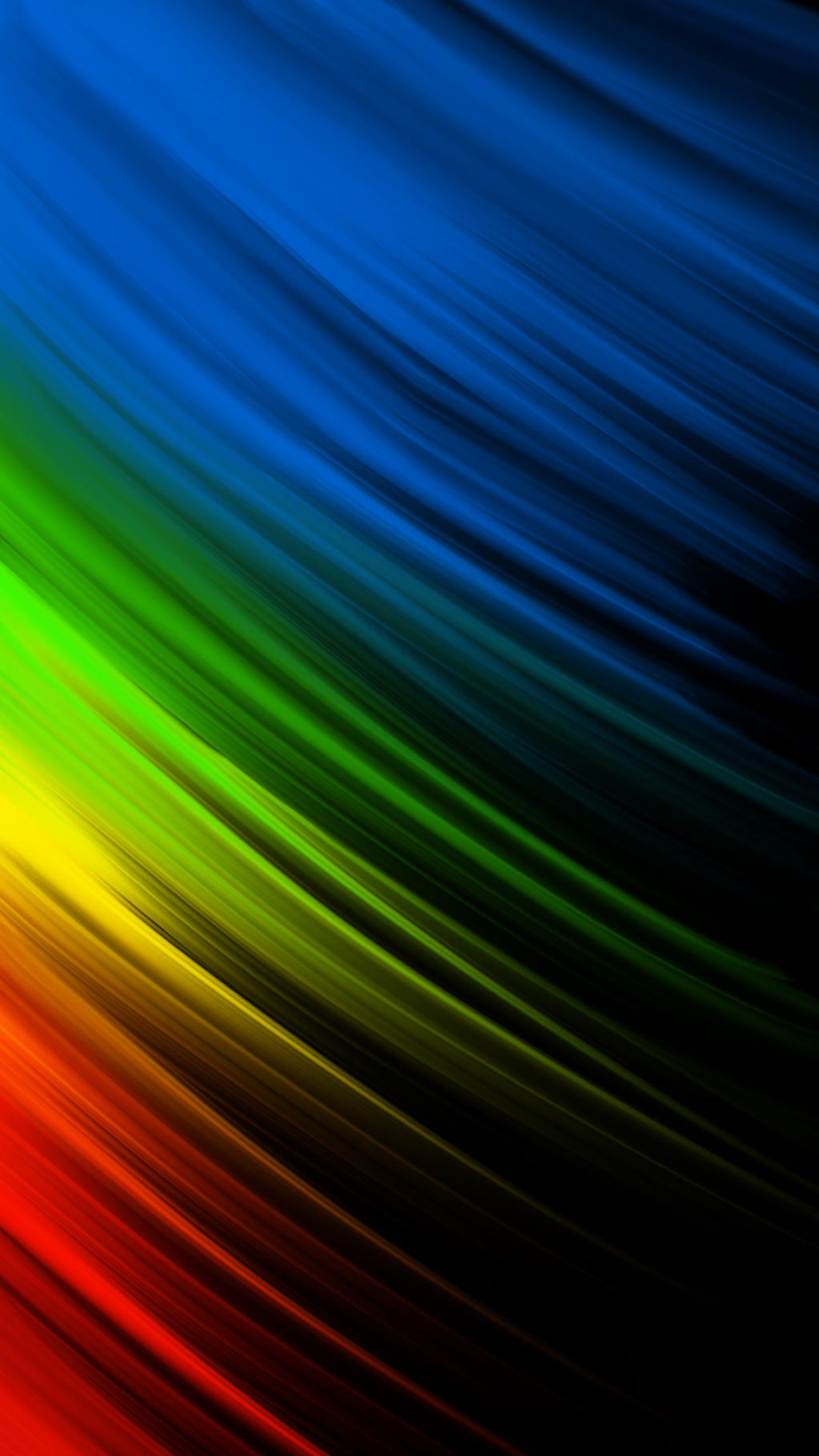 Color rays on black 1440x2560 wallpaper by el3aleyle on - Android wallpaper reddit ...