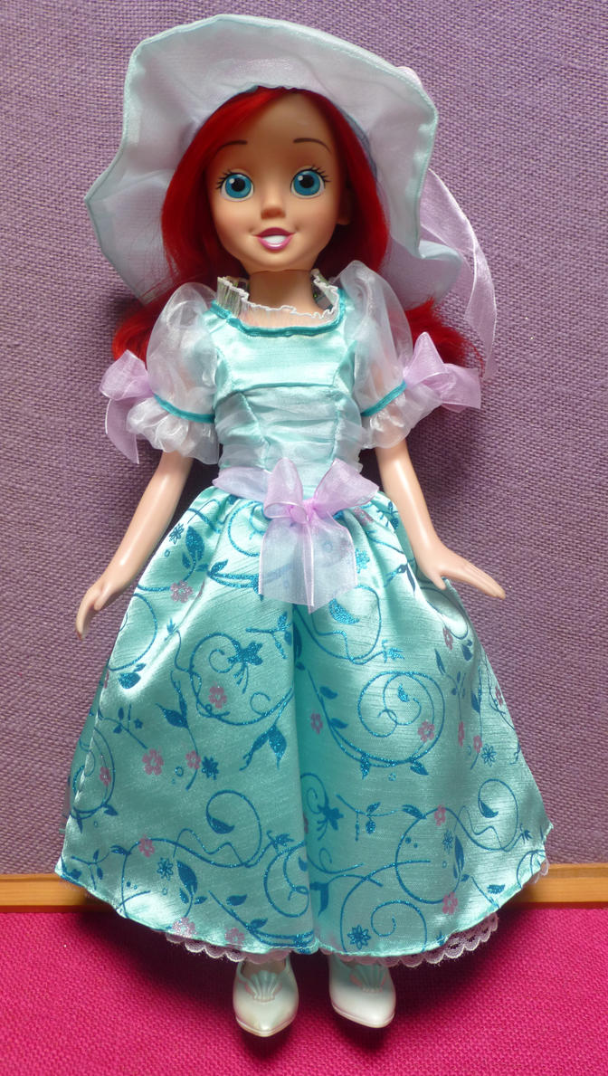 Ariel Princess and Me tea party fashion by SHANNON-CASSUL-LOVER