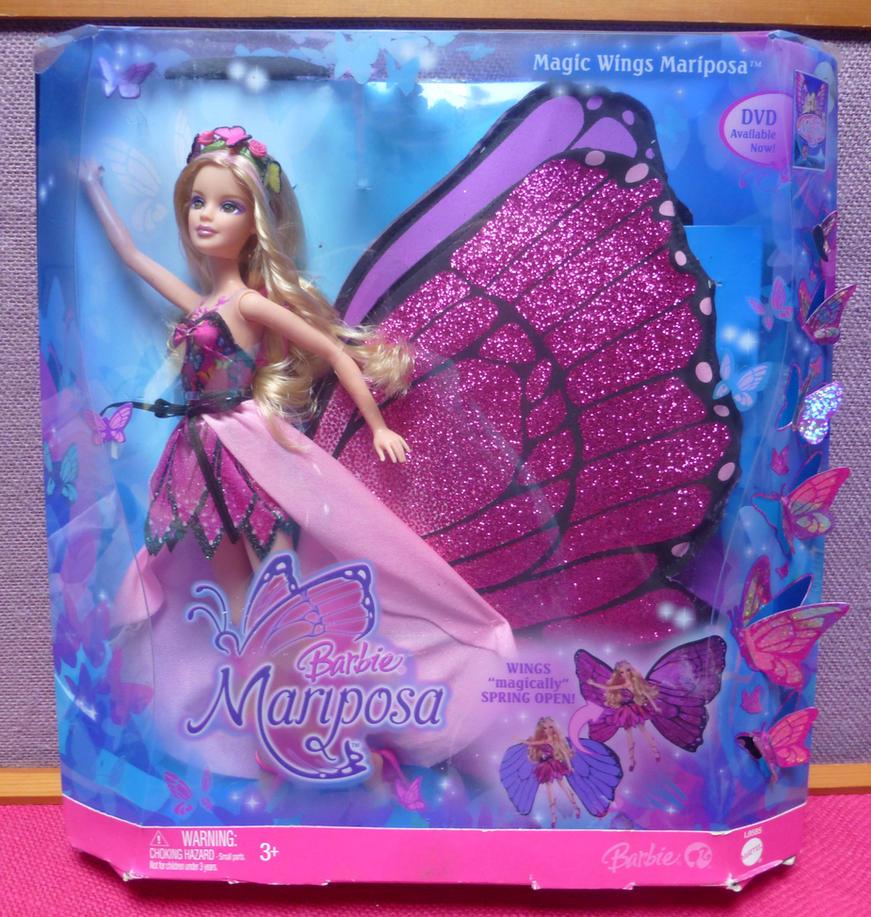 Barbie Mariposa doll 2008 NIB by SHANNON-CASSUL-LOVER