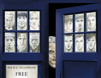Doctor Who - Window to the Future Past by JamesLynch