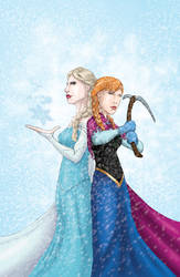Frozen - For the First Time in Forever by JamesLynch