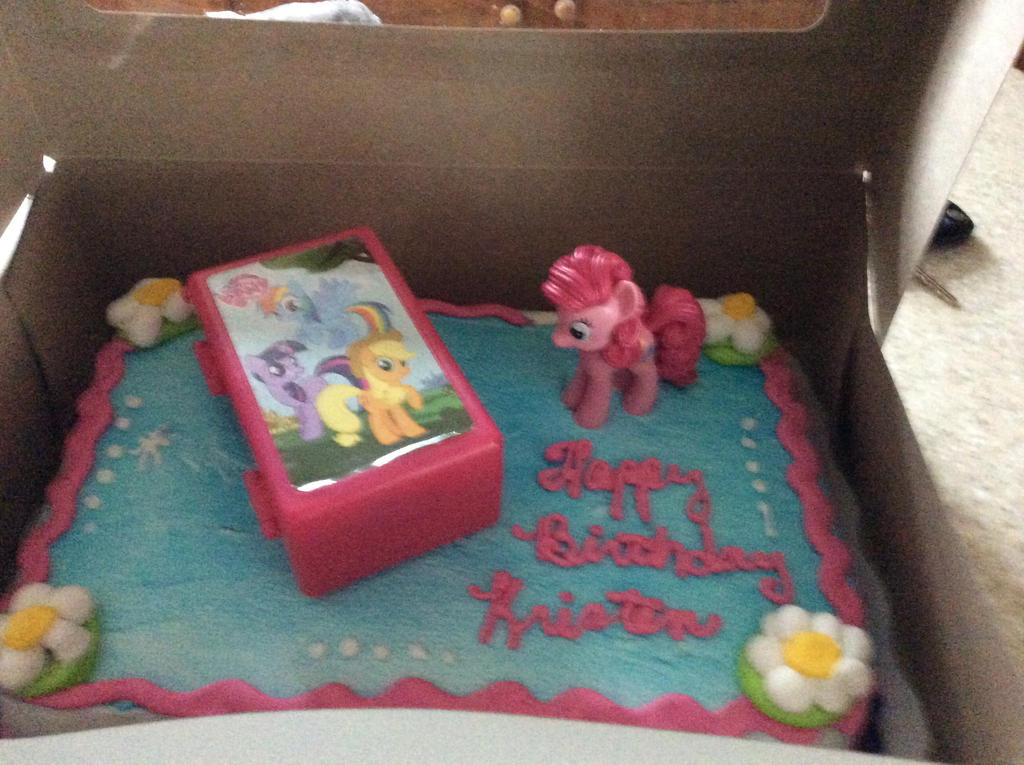 My little pony cake by wrightgirl11