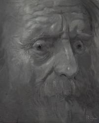 43. Studiu de lumina dupa Rembrandt