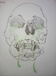 Poisonous Skull by JnJrz