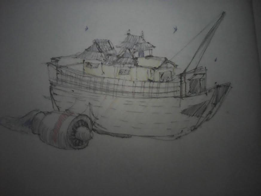 Star Ship by JnJrz