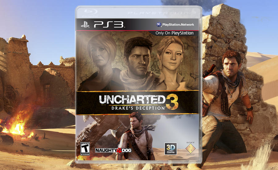 Uncharted 3 Drake S Deception Cover Preview By Rafadbzporto