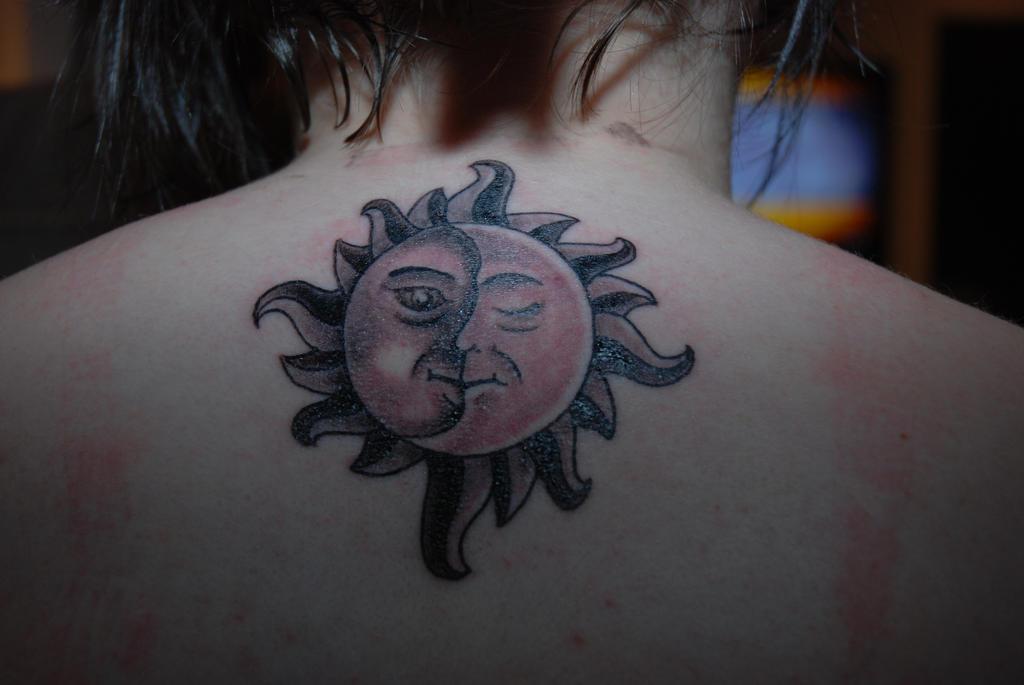 Tattoo - Sole Luna by shinyluna
