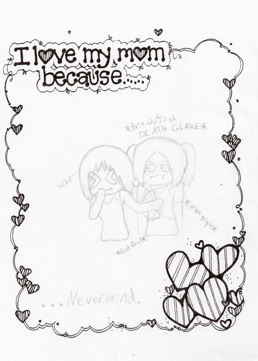 an essay on why i love my mother Here are more honorable mentions from our a mother's love mother's day essay contest read our may 2014 issue to read the winning essay and.