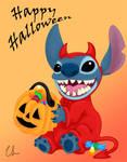 Happy Halloween - Stitch