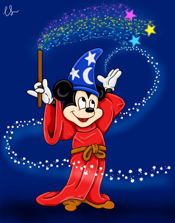 Sorcerer's Apprentice Mickey by lambini on DeviantArt