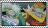 Gill and Airzel Stamp by KisaMyuki