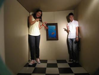 Ames Room 3 by SheikTheGeek