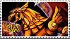 Winged Dragon of Ra Stamp 2.
