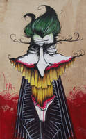 Joker Painting by SeanDietrich