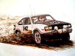 AMC Eagle Rally Drawing