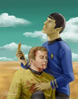 Spock to Enterprise by ayumi-lemura