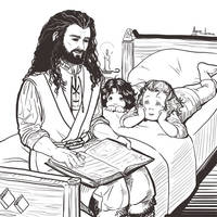 The Durin Family - 1. Fairytales by ayumi-lemura