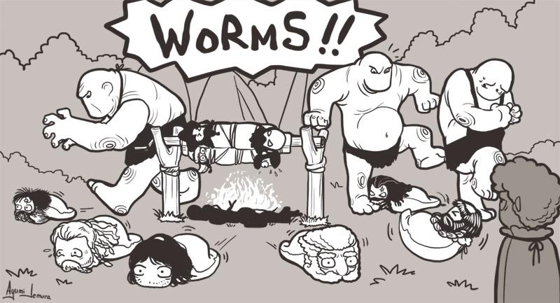 WORMS! by ayumi-lemura