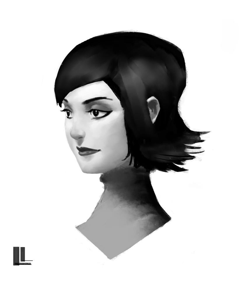 Portrait 9 by lancevl