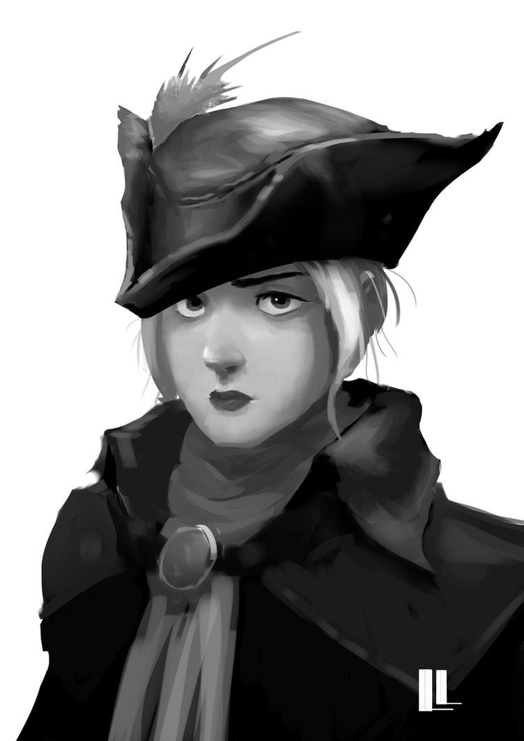 Lady Maria Portrait by lancevl