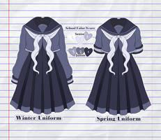Female Uniform by ParadoxIsMadness