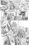 Near Death pencil page by NoirZone