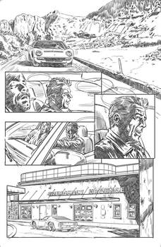 Near Death: hospital page pencil