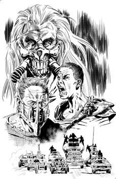 Mad Max fan art Poster