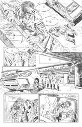 Breakneck #2 page 1 pencils