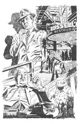 Bogart Commission pencils