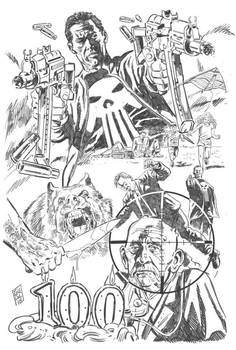 Punisher Commission (pencils)