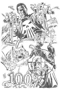 Punisher Commission (pencils)