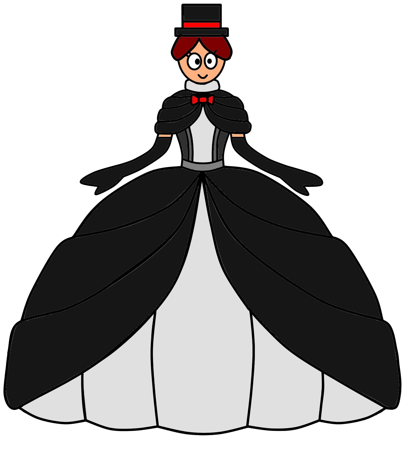 Tuxedo Ball Gown by Jamster93 on DeviantArt