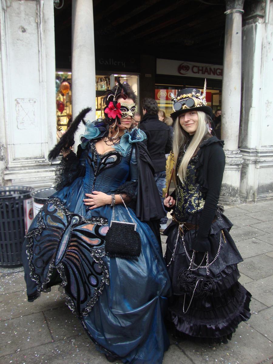 Victorian + Steampunk lady by vladioglas