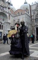 Steampunk couple by vladioglas